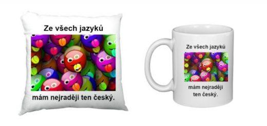 Tipy na dárky pro milovníky češtiny