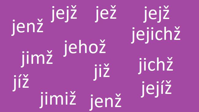 Skloňování zájmen jenž a jež – znáte správné tvary těchto slov?