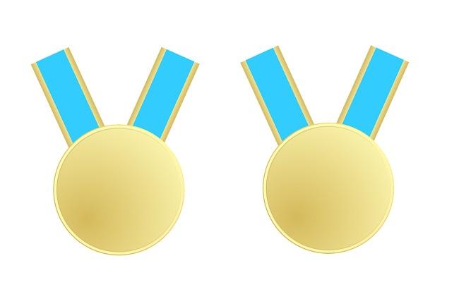 Zlaté medaile