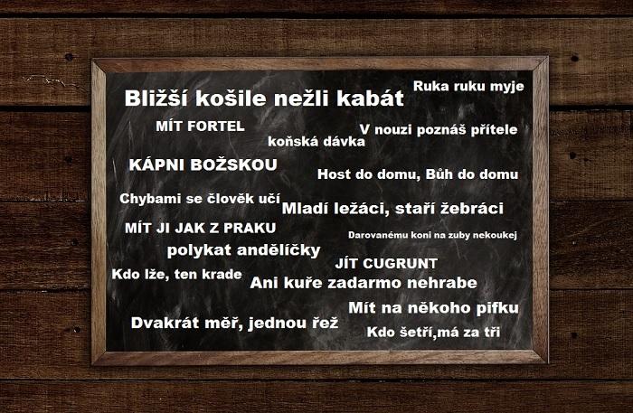 Frazémy v češtině