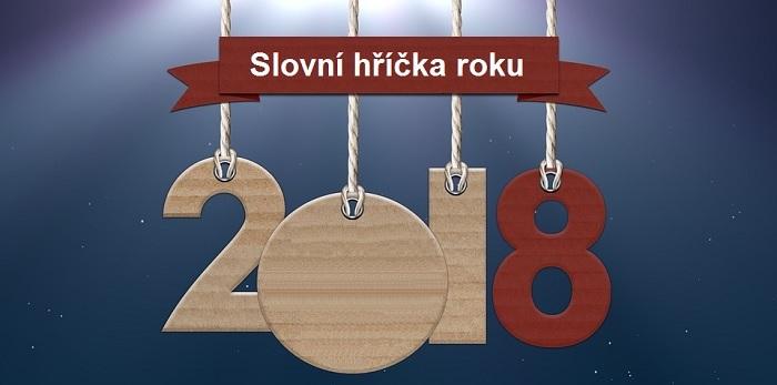 Slovní hříčka roku 2018