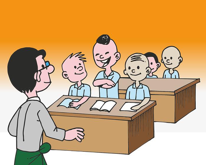 Předávání vysvědčení (víza/výza)